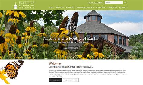 cape fear botanical gardens portfolio biz tools  web