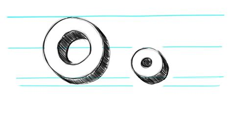 how to draw 3d letters p uppercase p and lowercase p in how to draw 3d letters o uppercase o and lowercase o in 71177