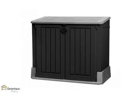 Garten Kunststoffschrank Tepro Kunststoff Aufbewahrungsbox Schrank Store It Out