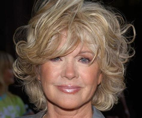 Cute Short Curly Hairstyles For Women Over 50