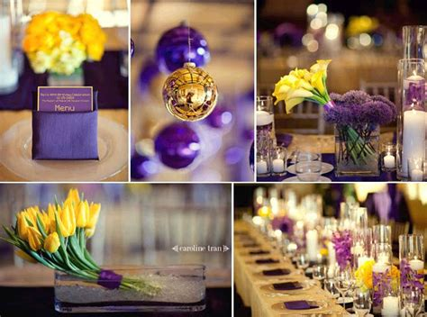 cesley s outdoor destination venues provide opportunities for practical wedding decor - Wedding Decoration Purple And Yellow