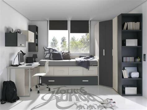 chambre et gris ado comment aménager une chambre d 39 ado garçon 55 astuces en