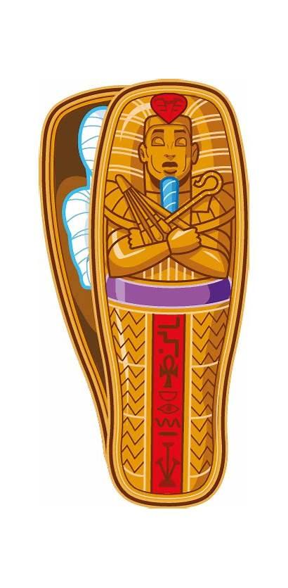 Mummy Ancient Sarcophagus Clipart Egyptian Egypt Pharaoh