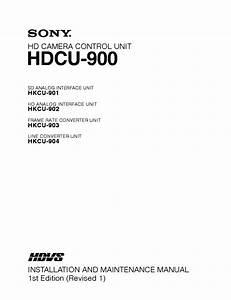 Sony Hdcu