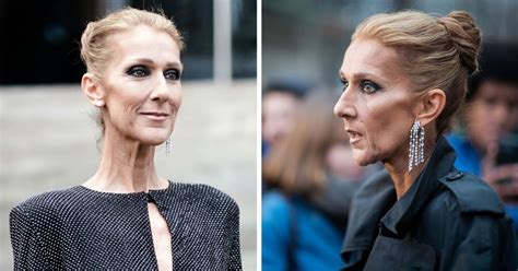 celine dion slams body shamers  shocking weight loss