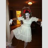 Homemade Broken Doll Costume | 508 x 680 jpeg 46kB