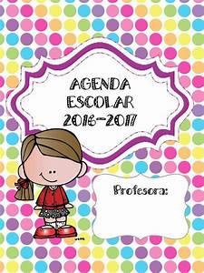 Maravillosa y colorida agenda escolar 2016 2017 Material Educativo