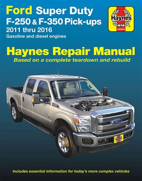 ford   super duty repair manual