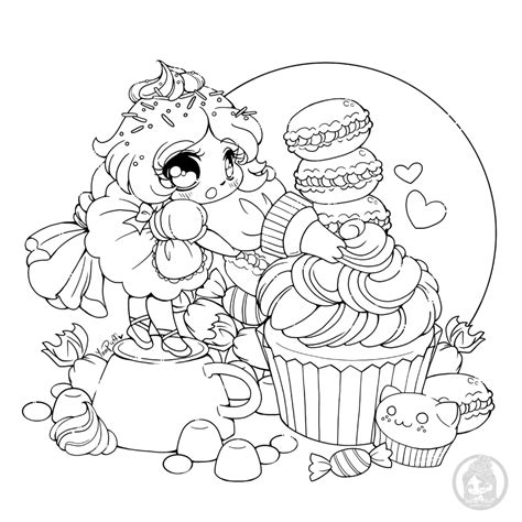 Chibis Free Chibi Coloring Pages • YamPuff's Stuff in