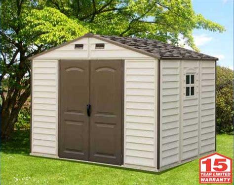 duramax storage shed duramax storage sheds 30211 10 5x8 woodside vinyl shed