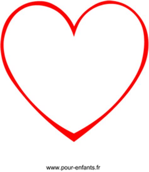 en forme de coeur dessin en forme de coeur taille pour coloriages de coeurs images de