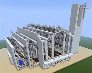 Modern Cathedral - St John the Baptist Minecraft Project