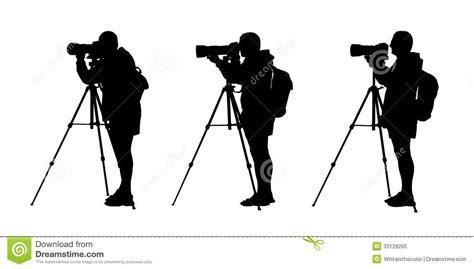 photographer tripod silhouette photographer silhouettes set 1 stock photo image 33129200