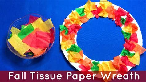 fall tissue paper wreath preschool and kindergarten 862 | maxresdefault