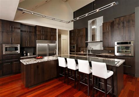 kitchen with cherry wood floors brazilian cherry flooring kitchen contemporary with brazilian cherry wood floor breakfast bar