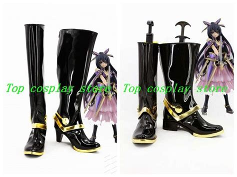 date a live tohka yatogami cosplay boots shoes dal003 shoe boot two version