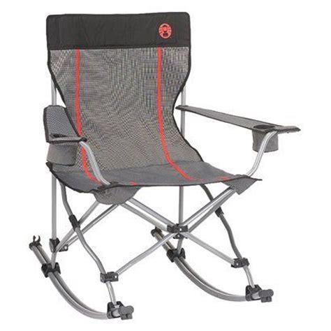 coleman quad chair rocker camping pinterest rocking