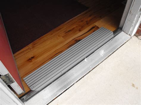 Special Needs Resource Project Retrofit Door Sill Ramp