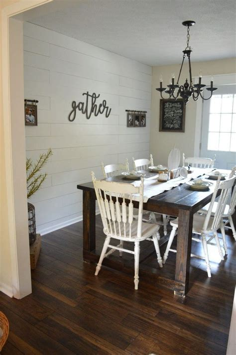 Do you not want to deal with the time and the mess? Gorgeous Shiplap at a Fraction of the Price | Dining room wall decor, Dining room walls