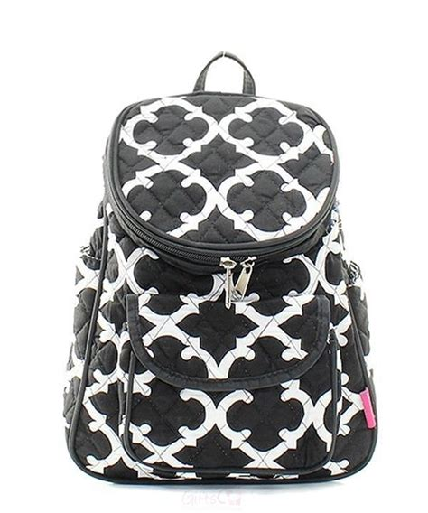 personalized quilted preschool backpack small purse tote 861 | ACE OTG286 BK 2