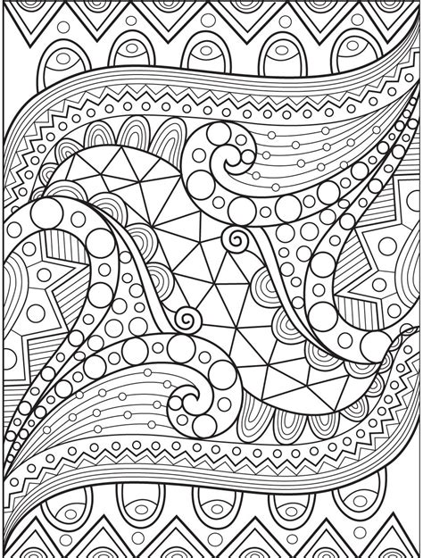 abstract coloring page  colorish coloring book app