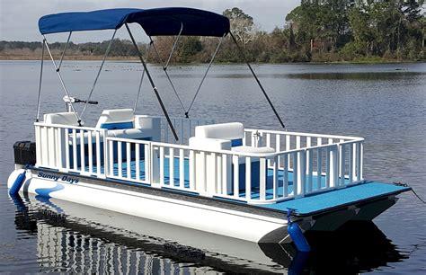 Mini Pontoon Boat Manufacturers by Days 15 Tri
