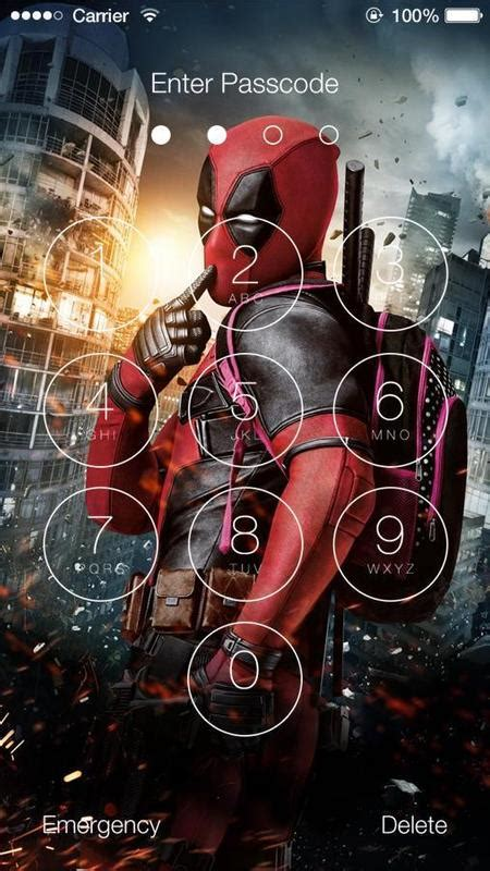 802 deadpool hd wallpapers and background images. Deadpool HD Wallpaper Lock Screen for Android - APK Download