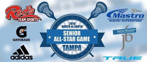 boys senior star rosters tampa lax report