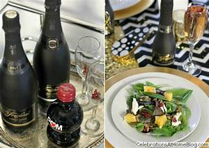 New Years Eve Golden Glam Dinner Party - Celebrations at Home