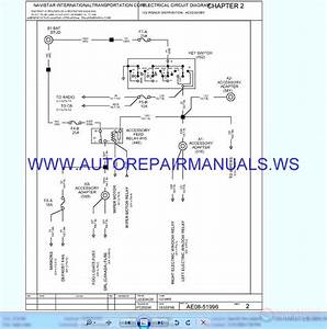International Vt365 Electrical Schematic 9800 2003