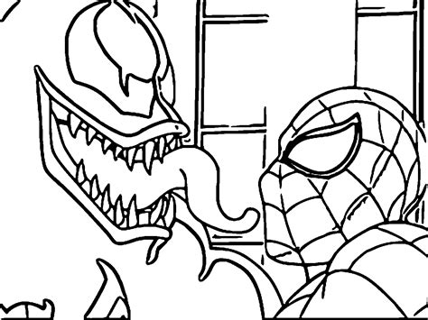Coloring Pages Of Venom