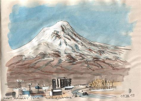 mount ararat turkey countries world drawings pictures