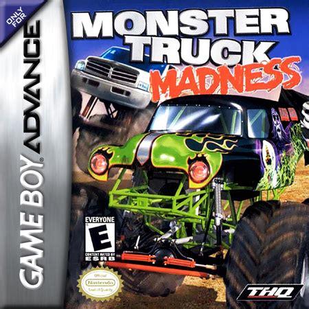 monster truck games video play monster truck madness nintendo game boy advance