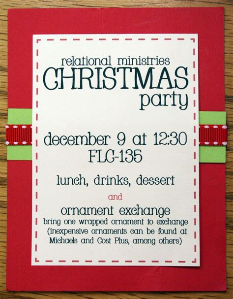 christmas party invitation ideas gangcraft net