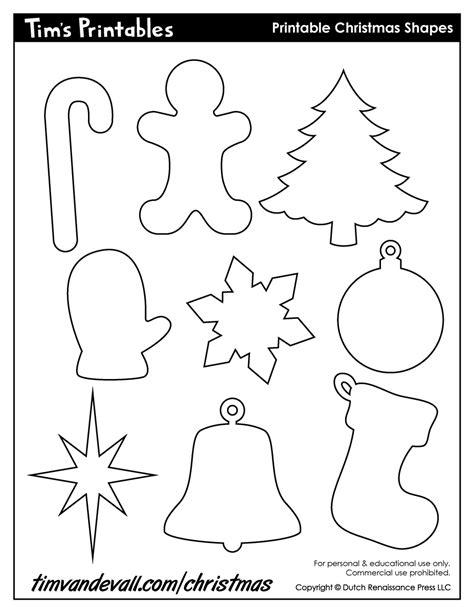 Christmas Cutouts Printable  Halloween & Holidays Wizard