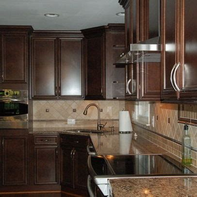 cabinet color back splash and stainless steel