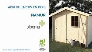 Toiture Abri De Jardin Castorama : abri de jardin en bois namur blooma 630680 castorama ~ Farleysfitness.com Idées de Décoration