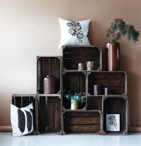 cagette en bois les recycler et d 233 tourner en meuble d 233 co id 233 e d 233 co deco