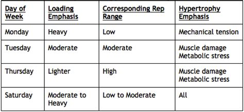 Undulating Periodization Template by Winston Salem Personal Eat Lift And Condition