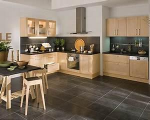 Cuisine Bois Clair : nature bois cuisine claire 25 cuisines dans tous les ~ Melissatoandfro.com Idées de Décoration