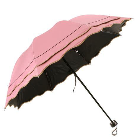 folding umbrella fashion windproof anti uv sun flouncing compact