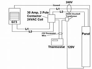 Wiring Diagram  31 240v Single Pole Thermostat Wiring Diagram
