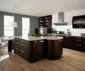 New home designs latest : Modern home kitchen cabinet