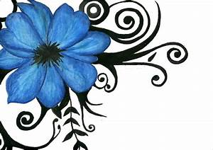 20+ Flower Drawings, Sketches | Design Trends - Premium ...