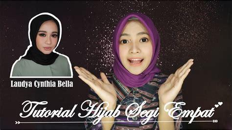 gambar tutorial hijab claudia sintya bella tutorial hijab
