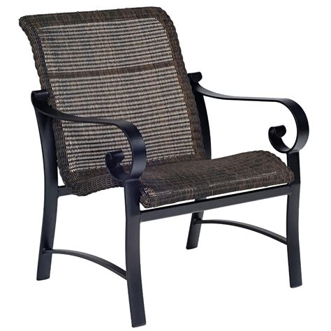 woodard belden woven lounge chair 5j0406