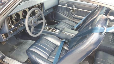 Z28 Camaro Interior by Original Tires 20k Mile 1981 Camaro Z28