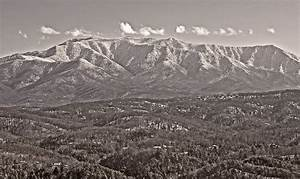 Smoky Mountains in Black and White | William Britten ...