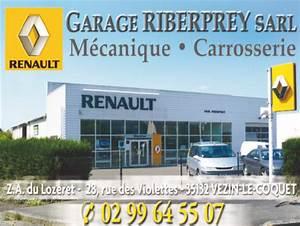 Garage Renault Paris 11 : partenaire garage renault riberprey vezin le coquet asv badminton ~ Gottalentnigeria.com Avis de Voitures