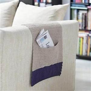 Protège Accoudoir Canapé : un prot ge accoudoir pour fauteuil ou canap tricot tricot crochet and crochet ~ Teatrodelosmanantiales.com Idées de Décoration